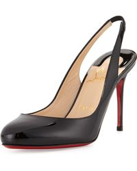Christian Louboutin Fifi Patent-Leather Pumps - Lyst