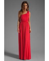 Rachel Pally Felix Dress red - Lyst