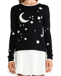 Milly Starry Nights Glowinthedark Sweater - Lyst