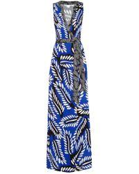 Diane von Furstenberg Orchid Dress - Lyst
