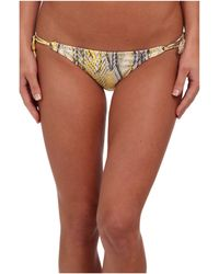 Vix Ruda Yellow Long Tie Brazilian Bottom - Lyst