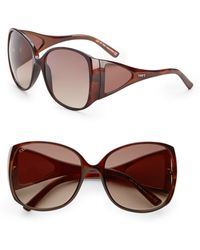 Tod's - Oversized Acetate Sunglasses - Lyst