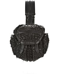 Alexander Wang | Exclusive Mini Marti In Embossed Croc | Lyst