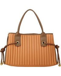 See By Chloé Quilted Sheen Tote - Lyst