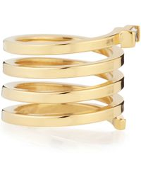 Jennifer Zeuner - Fortuna Gold Vermeil Spiral Ring - Lyst