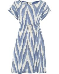 Linea Weekend Ikat Chambray Dress - Lyst