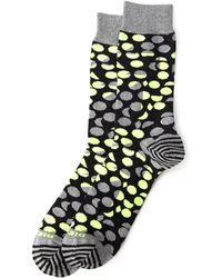 Diesel Contrast Dot & Stripe Crew Socks - Lyst