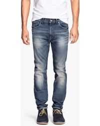 H&M Jeans Skinny Fit - Lyst