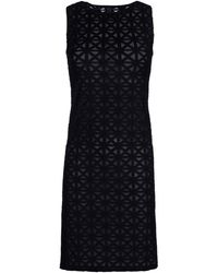Gareth Pugh Black Short Dress - Lyst