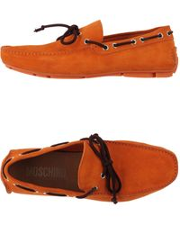Moschino - Moccasins - Lyst