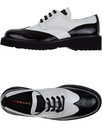Prada Sport Lace-Up Shoes - Lyst