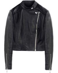 Alexander Wang | Leather Outerwear | Lyst