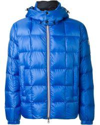 Moncler 'lefranc' Padded Jacket blue - Lyst
