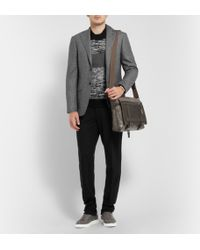 Canali Grey Capri Patterned Wool Suit - Lyst