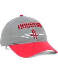 Adidas Houston Rockets 2t Slouch Cap - Lyst