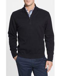 Cutter & Buck 'Broadview' Half Zip Sweater - Lyst