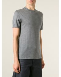 Neil Barrett Crew Neck T-Shirt - Lyst