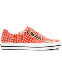 Roger Vivier - Mytheresa.com Exclusive Sneaky Viv Leather Sneakers - Lyst