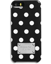 MICHAEL Michael Kors Snap-On Iphone 5 And 5S Case black - Lyst