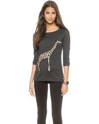 Banjo & Matilda - Giraffe Cashmere Sweater - Charcoal - Lyst