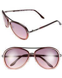BCBGMAXAZRIA   'divine' 59mm Sunglasses - Raspberry Fade   Lyst