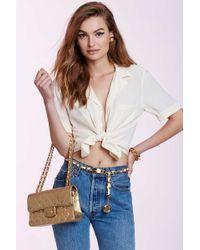 Chanel | Vintage Capucine Silk Blouse | Lyst