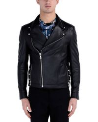 Versus  | Leather Outerwear | Lyst