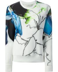 Reed Krakoff Abstract Print Sweatshirt - Lyst