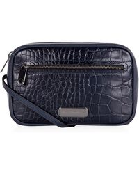Marc By Marc Jacobs - Sally Croc Cross Body Bag - Lyst