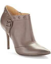 Enzo Angiolini Presly Stiletto-Heeled Ankle Boots - Lyst