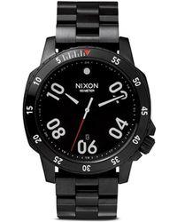 Nixon 'Ranger' Analog Watch - Lyst