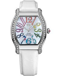Juicy Couture - Ladies Dalton Watch With Leather Strap - Lyst