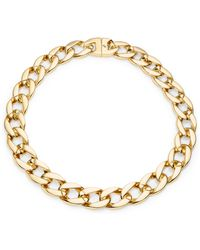 Karen Kane - Chain Link Statement Necklace - Lyst
