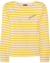 Petit Bateau - Mariniere Striped Cotton-Jersey Top - Lyst