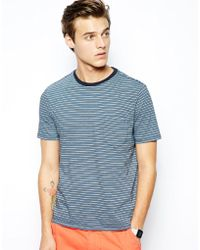 Dockers - Alpha T-shirt Lim Fit Stripe One Pocket - Darren Navy - Lyst