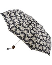 Orla Kiely - Minilite-2 Seventies Flower Oval Umbrella - Lyst