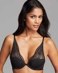 Calvin Klein Bra Infinite Lace Convertible Provocative Plunge - Lyst
