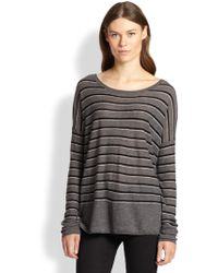 Vince Superwash Striped Sweater - Lyst