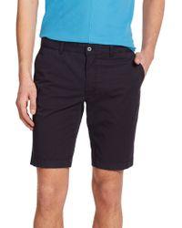 J.Lindeberg Slim-Fit Shorts blue - Lyst