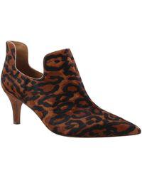 Kay Unger - Japhette Leopard-print Calf Hair Booties - Lyst