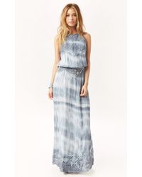 Jen's Pirate Booty Peruvian Maxi Dress blue - Lyst
