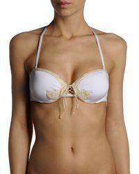 Ermanno Scervino Bikini Top - Lyst