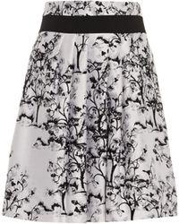 Diane von Furstenberg Zelie Skirt black - Lyst