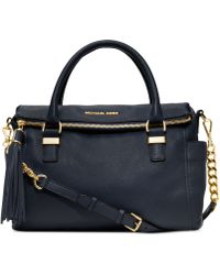Michael Kors Weston Medium Satchel - Lyst