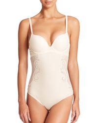 Spanx Haute Contour Deco Sweetheart Bodysuit white - Lyst