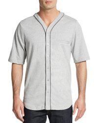 Alternative Apparel - Baseball Jersey Shirt - Lyst