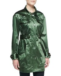Jason Wu Satin-finish Twill Parka - Lyst