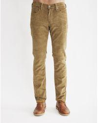 Levi's | 511 Slim Fit Cougar Pigment Cord Wt Jean | Lyst