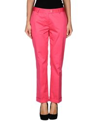 Moschino Cheap & Chic Casual Pants - Lyst