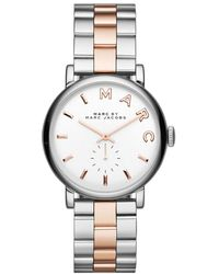 Marc By Marc Jacobs - Baker 36Mm Two-Tone Watch - Lyst
